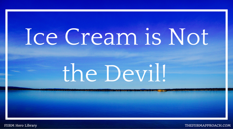 Credit is not the devil, neither is ice cream