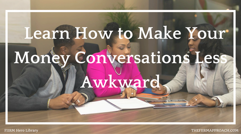 How to Make Money Conversations Less Awkward