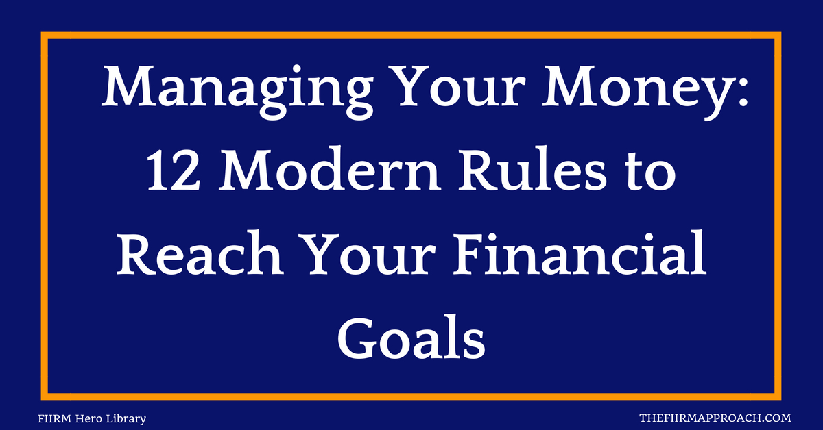 Manage your money better by sticking to the rules that matter to your life.