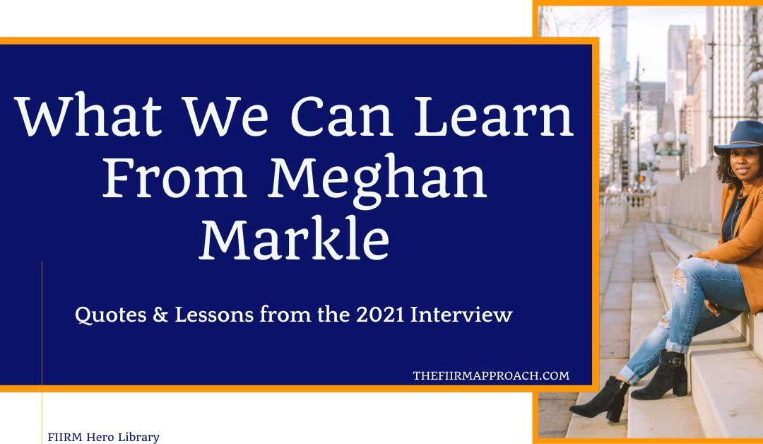 What We Can Learn From Meghan Markle